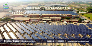 2 MW Grid Tied Solar System Installed at Interloop Limited