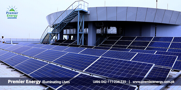 32 KW Grid Tied Solar Power Plant Installed at Askari Corporate Tower