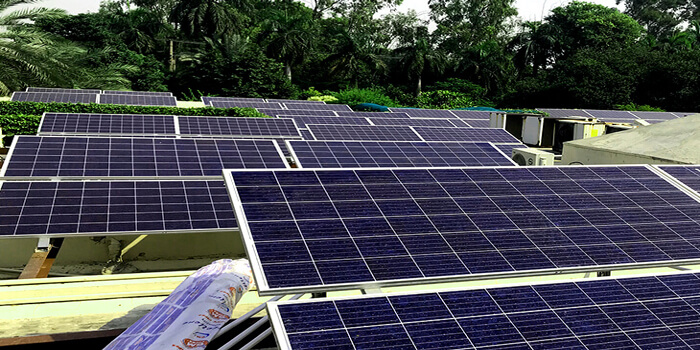 35KW Grid Tied Solar Power Plant Installed at Residence of Saigol Family, Lahore