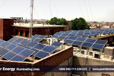 0.5 MW Grid Tied Solar Power Plant Installed at Mehmood Textile Mills