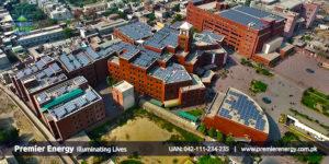 0.5 MW Grid-Tied Solar Power Plant University of Central Punjab
