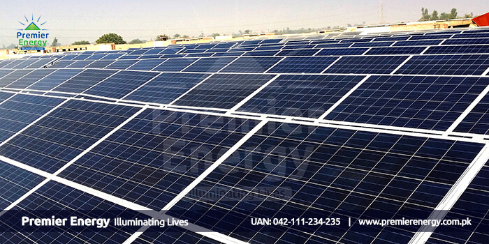 128 KW Grid Tied Solar Power Plant Installed at Al Hamd Textile Mill