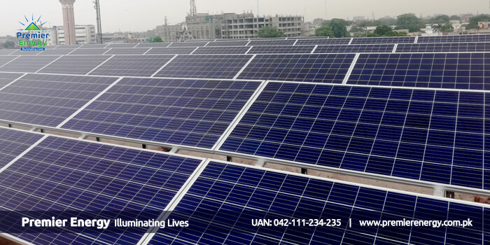 300 KW Grid Tied Solar Power Plant Installed at Crescent Educational Trust