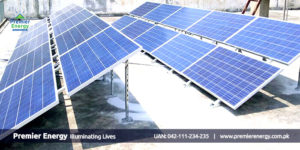 5 KW Grid Tied Solar System Installed at Al Noor School