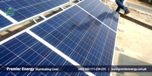 5 KW Grid Tied Solar Power Plant Installed at PSO Petrol Pump