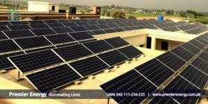 85 KW Grid Tied Solar System Installed at Cadet College Okara