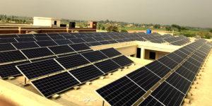 85KW Grid Tied Solar Power Plant Installed at Cadet College Okara