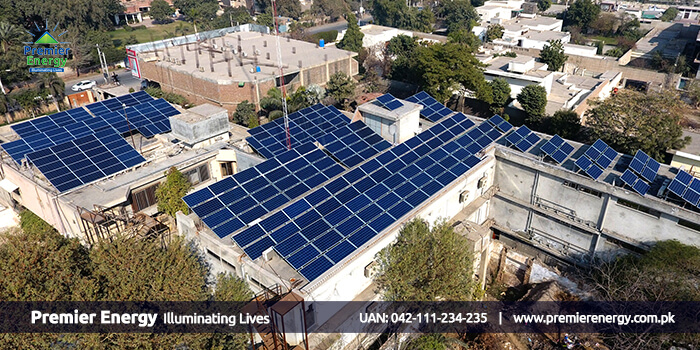 88 KW Grid Tied Solar Power Plant Installed at Fazal Cloth Mills