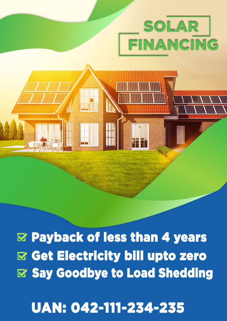 Solar Financing Pakistan